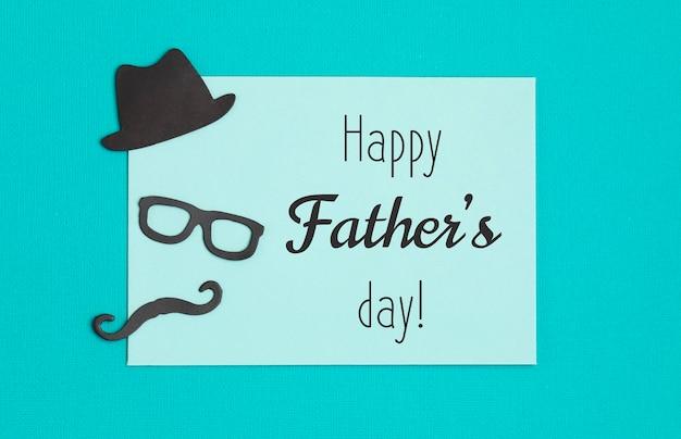 Feliz dia dos pais panfleto, convite, celebração ou pôster