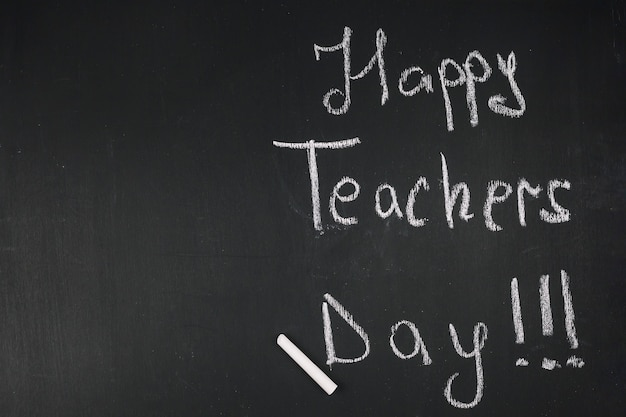 Feliz dia dos professores palavras