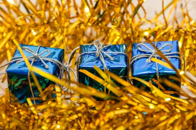 Feliz natal e feliz ano novo cartão.