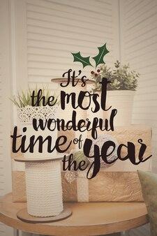 Feliz natal e feliz novo