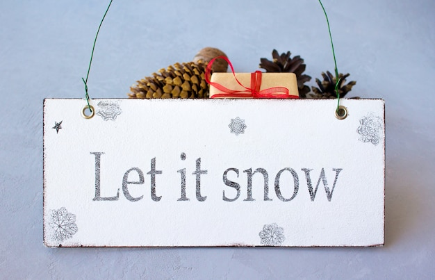 Feliz natal mágico deixe nevar