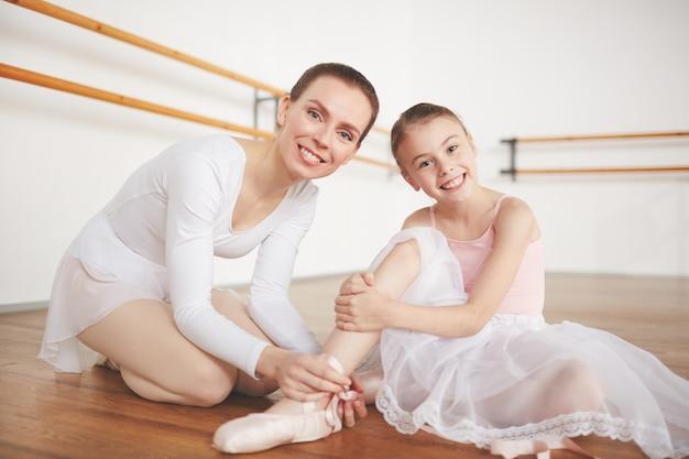 Fêmeas de balé