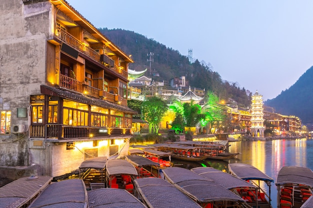 Fenghuang cidade antiga china