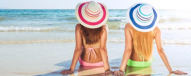 Feriado ao ar livre relaxa oceano bahamas