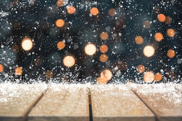 Feriado de natal com mesa vazia