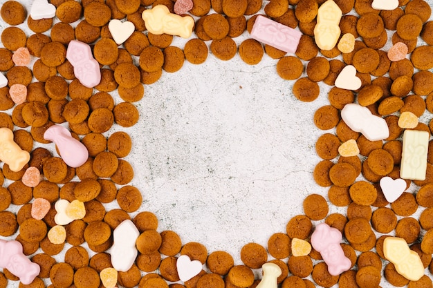 Feriado holandês sinterklaas com doces tradicionais