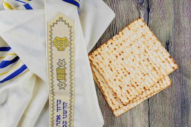 Feriado judaico pesah passover com matza