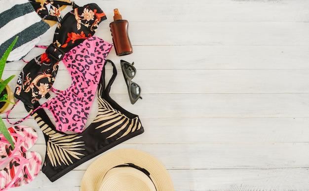 Férias de verão, viagens, férias, conceito de praia.