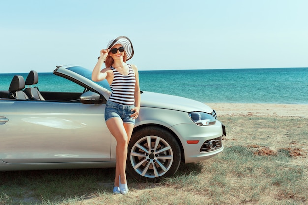 Férias de viagem de carro de verão