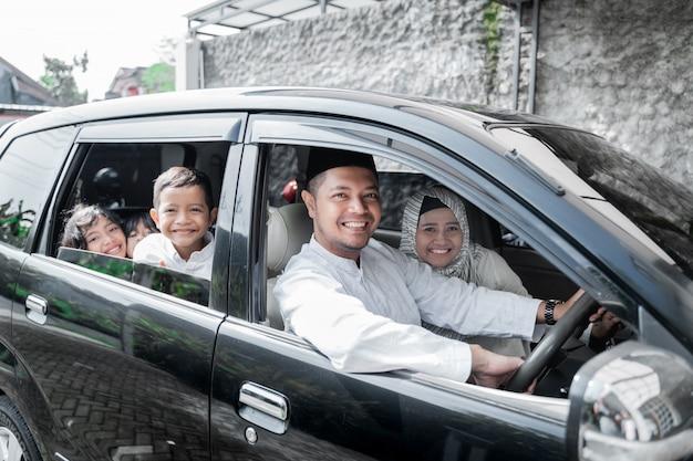 Férias em família muçulmana