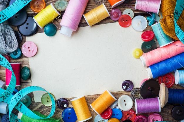 Ferramenta de costura para bordado, centímetro colorido