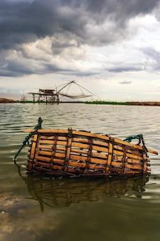 Ferramenta de pesca de pescadores de bambu