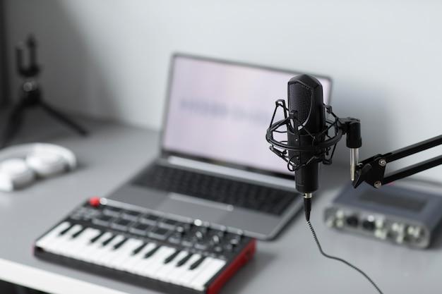 Ferramentas de alto ângulo para fazer música