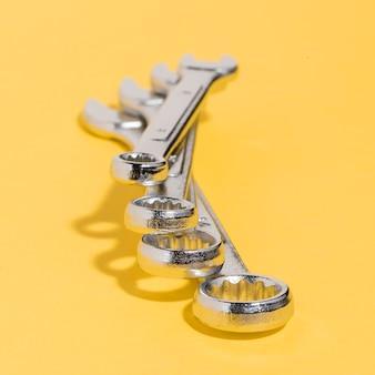 Ferramentas de alto ângulo para mecânico