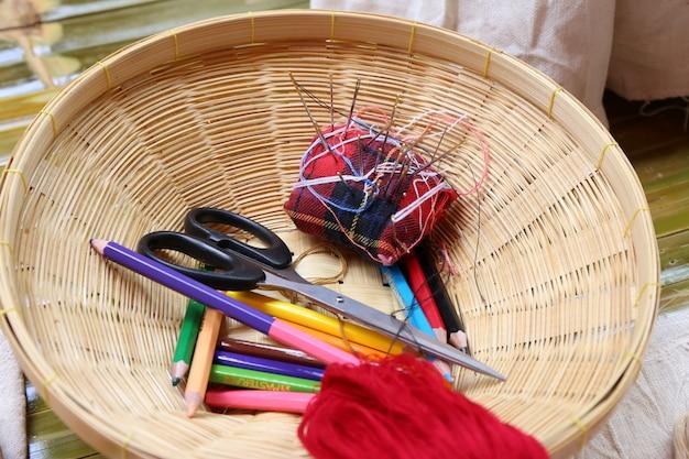 Ferramentas de artesanato de agulha de costura