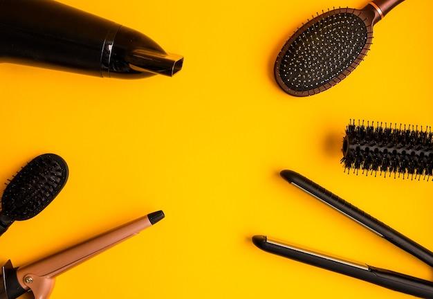 Ferramentas de cabeleireiro profissional