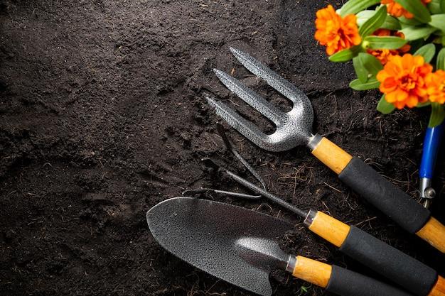 Ferramentas de jardinagem para começar sua pequena planta de jardim