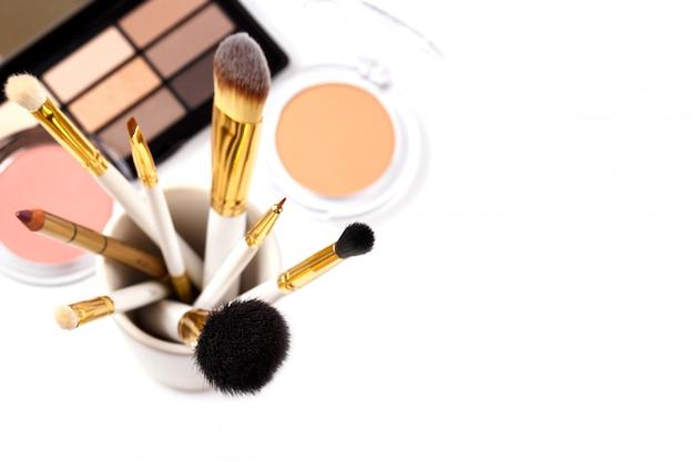 Ferramentas de maquiagem profissional