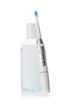 Ferramentas dentais e escova de dentes
