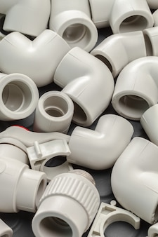 Ferramentas e materiais para obras sanitárias