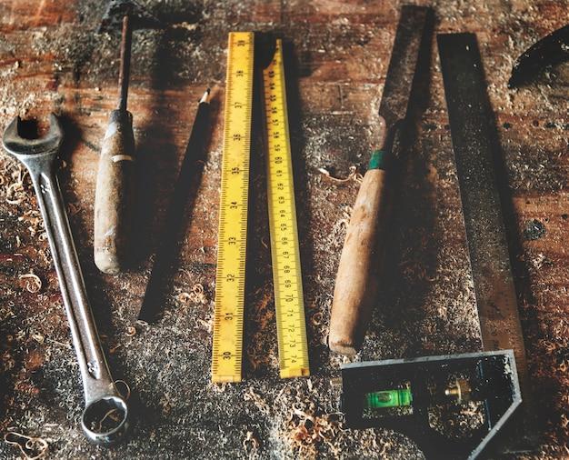 Ferramentas para carpintaria