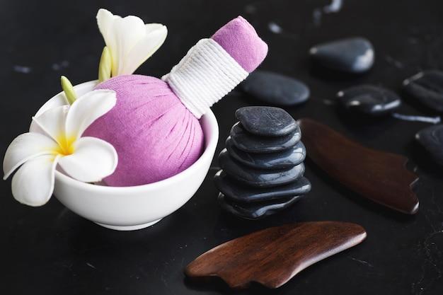 Ferramentas para diferentes tipos de massagens asiáticas