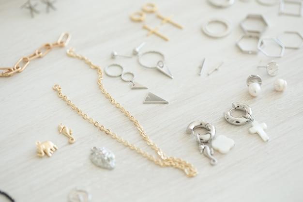 Ferramentas para fazer joias e acessórios artesanais e artesanais