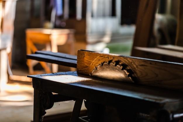 Ferramentas usadas em madeira.