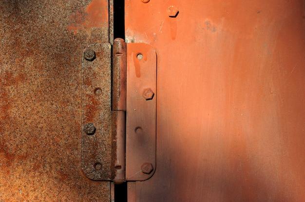 Ferro abstrato enferrujado