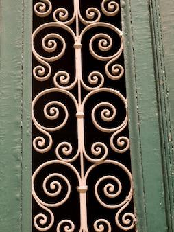 Ferro forjado decorativo em atenas, grécia