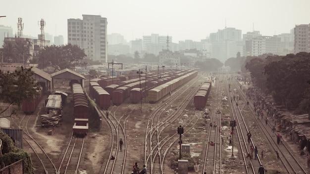 Ferrovia em bangladesh