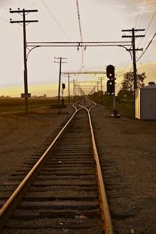 Ferrovia em illinois