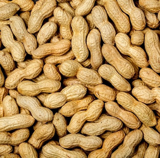 Ferva a textura de amendoim