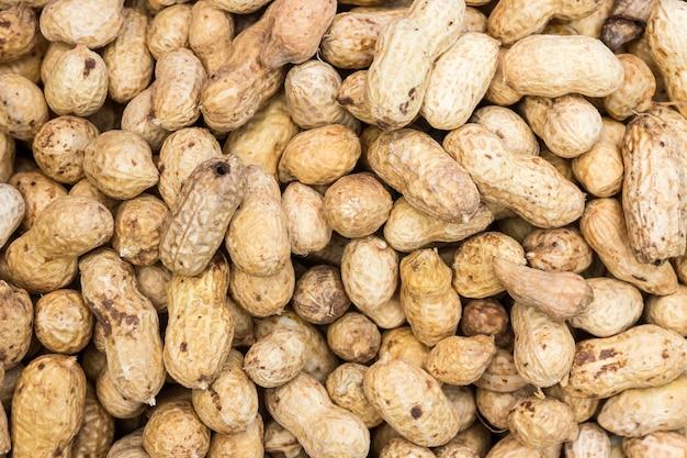 Ferver, amendoim, textura