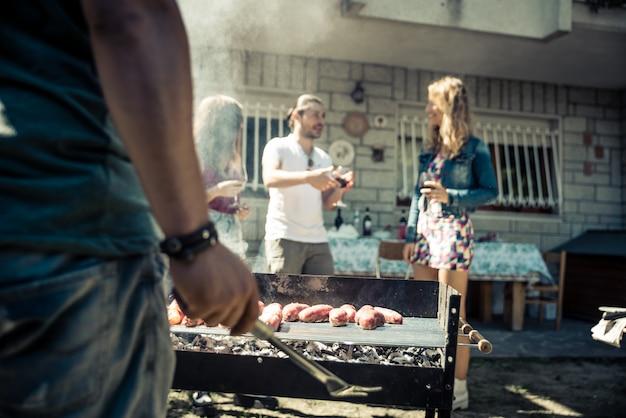 Festa de churrasco