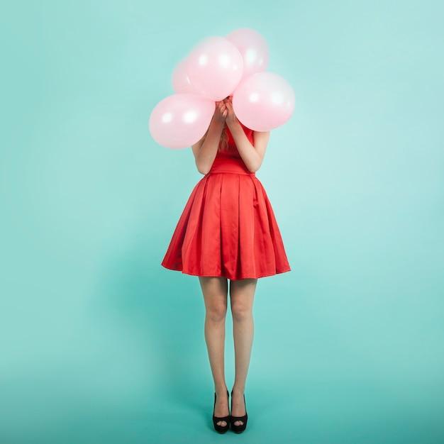 Festa do balão Foto Premium
