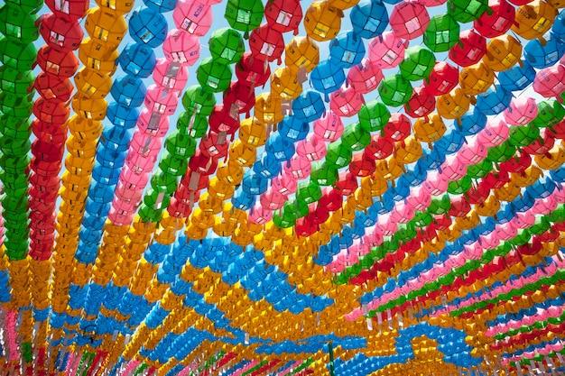 Festival das lanternas de seul