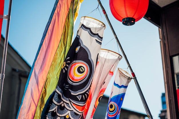 Festival de carpa no japão