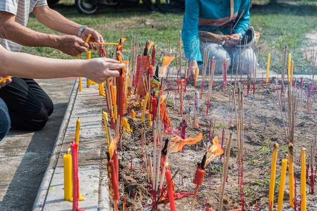 Festival de qingming (qing ming), dia da varredura da tumba