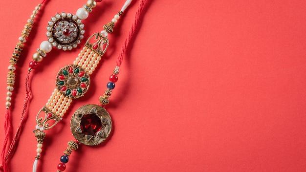 Festival indiano com bela rakhi
