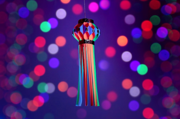 Festival indiano diwali, lanterna