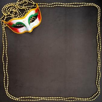 Festivo carnaval mardi gras veneziano
