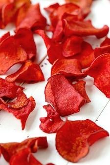 Fichas vermelhas