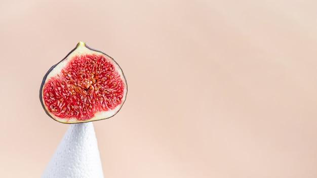 Figo frutas frescas figos lanche na mesa cópia espaço comida fundo dieta keto ou paleo dieta vegetariana
