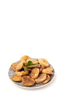 Figos secos com hortelã para o ramadã