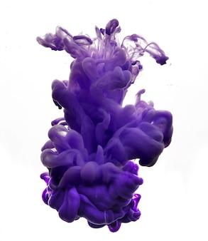 Figura abstrata de tinta