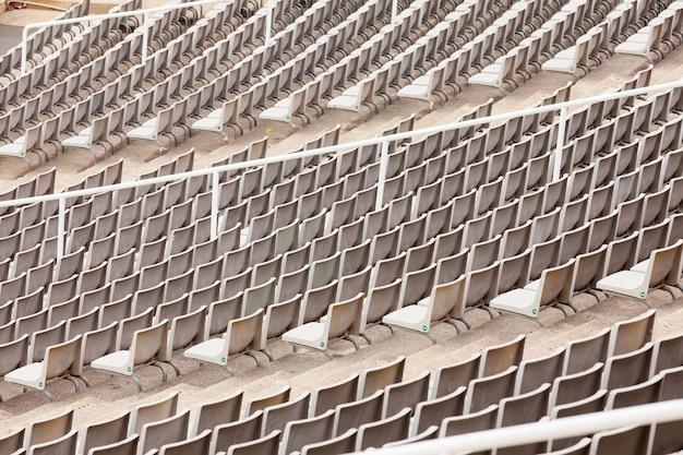 Filas de assentos