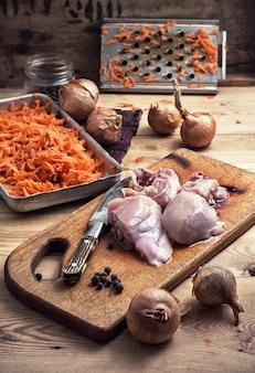 Filé de carne de frango