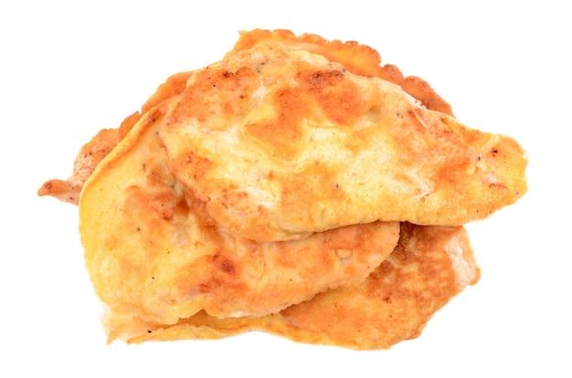 Filé de frango na massa