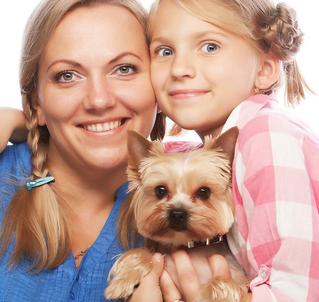 Filha de mãe de família feliz